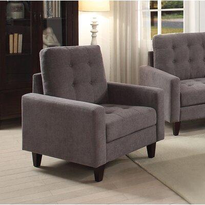 Cascio Armchair Upholstery: Gray