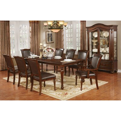 Eloise Traditional 9 Piece Dining Set