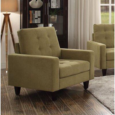 Cascio Armchair Upholstery: Mustard