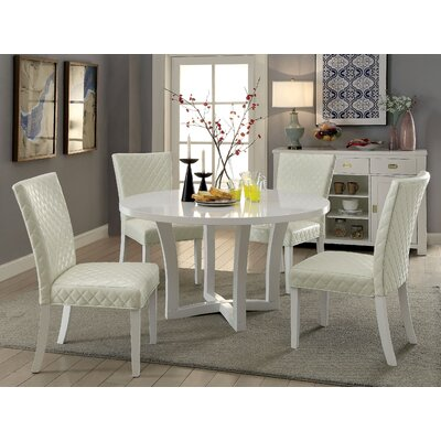 Karg Contemporary 5 Piece Dining Set
