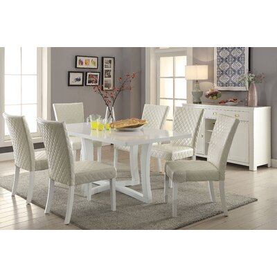 Karg Contemporary 7 Piece Dining Set