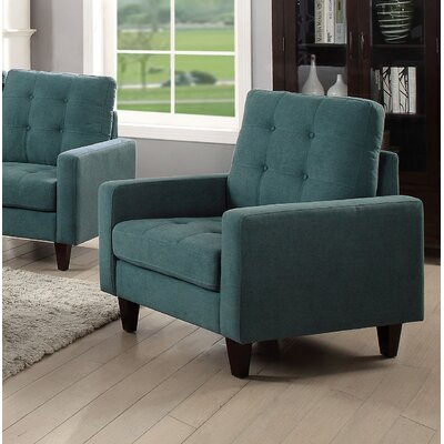 Cascio Armchair Upholstery: Teal