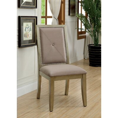 Mcdavid Contemporary Master Upholstered Dining Chair