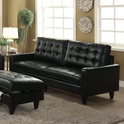 Cascio Sofa Upholstery: Black
