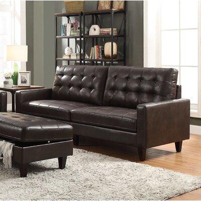 Cascio Sofa Upholstery: Espresso