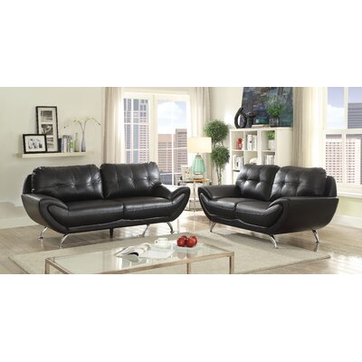 Diez Contemporary Configurable Living Room Set