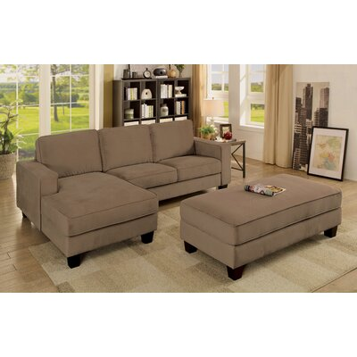 Lockwood Sectional with Ottoman