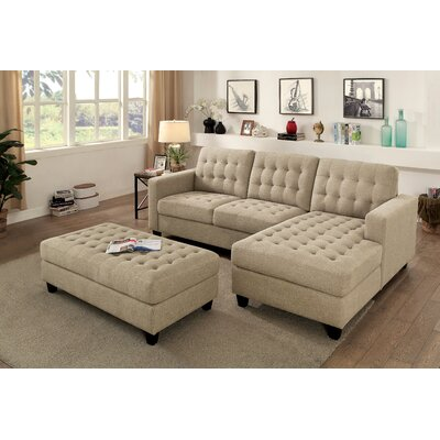 Lindaro Sectional with Ottoman