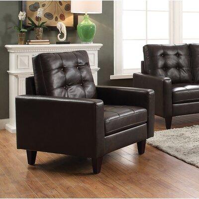 Cascio Armchair Upholstery: Espresso