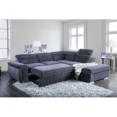 Gorski Transitional Sectional with Ottoman