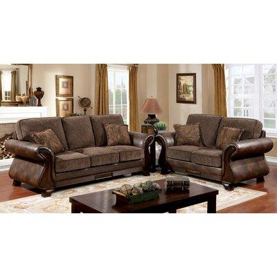 Buckelew Traditional Configurable Living Room Set