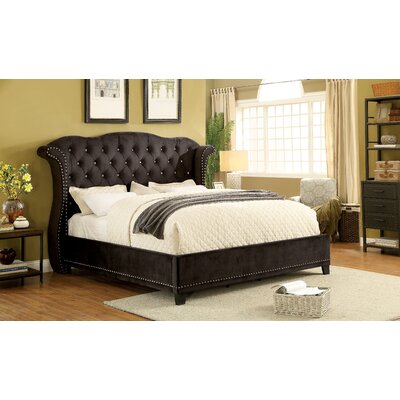 Mcduff Wingback Bed