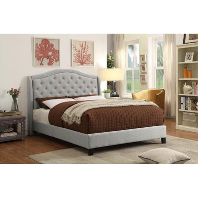Mcdougal Upholstered Panel Bed