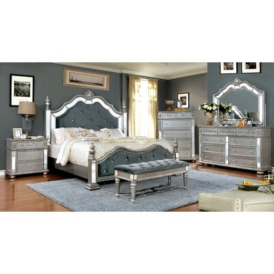 Mcdermott Panel Configurable Bedroom Set