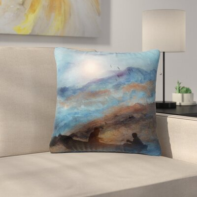 Viviana Gonzalez Calling the Sun VI Outdoor Throw Pillow Size: 16 H x 16 W x 5 D