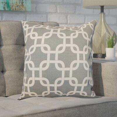Sessums 100% Cotton Throw Pillow Color: Summerland Grey, Size: 20 H x 20 W
