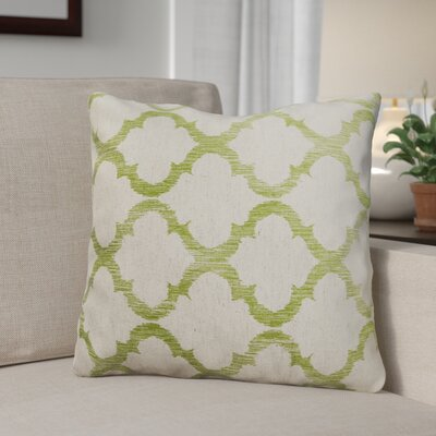 Fullwood Linen Throw Pillow Color: Palm