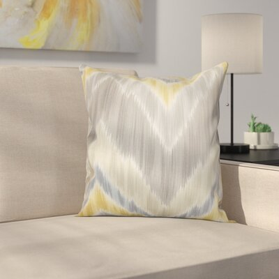 Earlwood Throw Pillow Color: Greystone, Size: 18x18