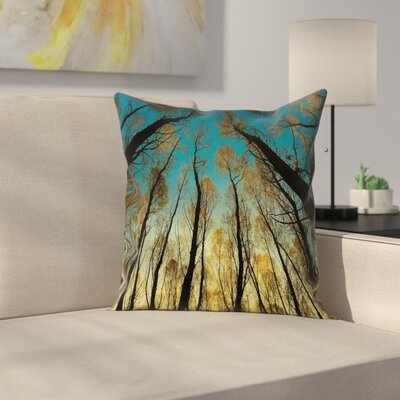 Modern Forest Pillow Cover Size: 24 x 24