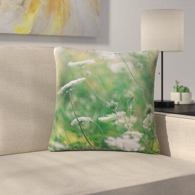 Queen Ann Floral Nature Outdoor Throw Pillow Size: 16 H x 16 W x 5 D