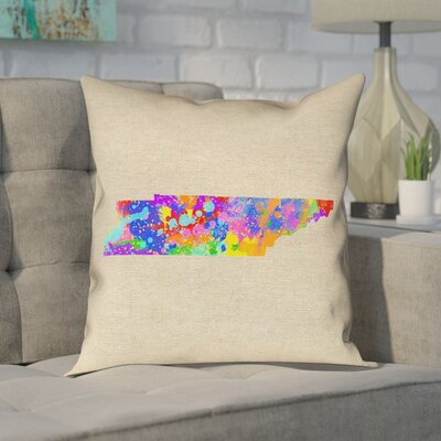 Chaput Tennessee Watercolor Pillow