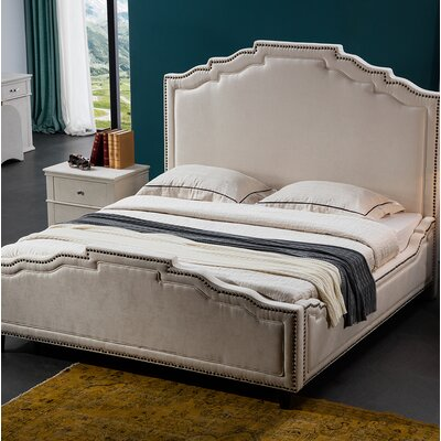 Terrell Upholstered Bed Frame Size: California King