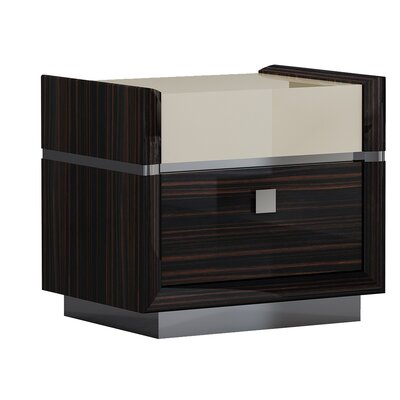 Hufford 2 Drawer Nightstand
