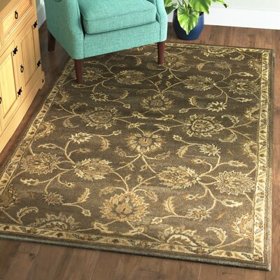 Banstead Hand-Tufted Wool Coffee Area Rug Rug Size: Rectangle 5 x 8