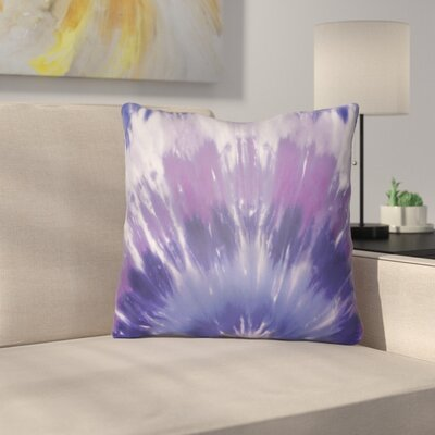 Calila Square Throw Pillow Size: 18 H x 18 W x 4 D, Color: Purple