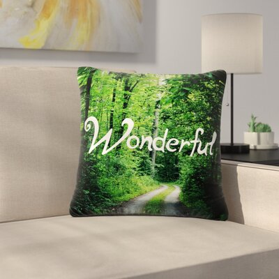 Chlesea Victoria Wonderful Nature Outdoor Throw Pillow Size: 16 H x 16 W x 5 D