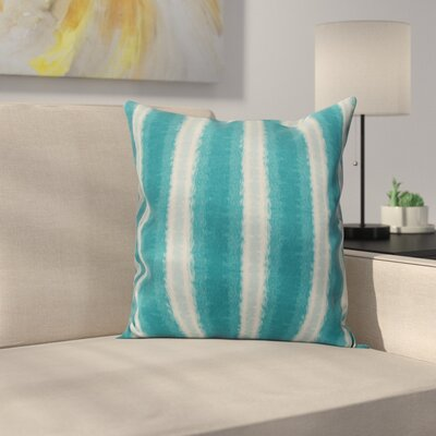 Navarro Lines Throw Pillow Size: 26 H x 26 W, Color: Teal