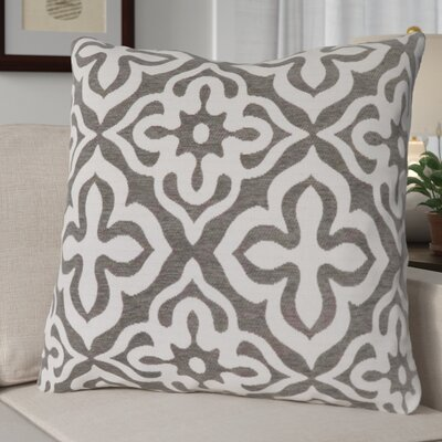 Silpa Throw Pillow Color: Dark Taupe