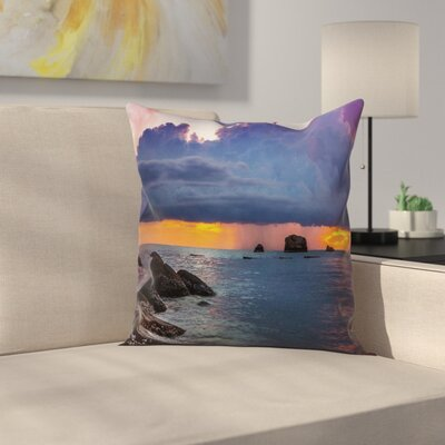 Modern Beach Pillow Cover Size: 16 x 16