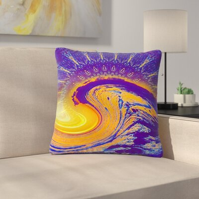 Infinite Spray Art Devreux Nautical Outdoor Throw Pillow Size: 18 H x 18 W x 5 D