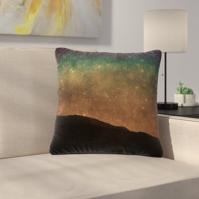 Sylvia Coomes Star Light Outdoor Throw Pillow Size: 18 H x 18 W x 5 D