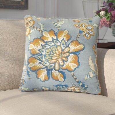 Katharyn Floral Cotton Throw Pillow