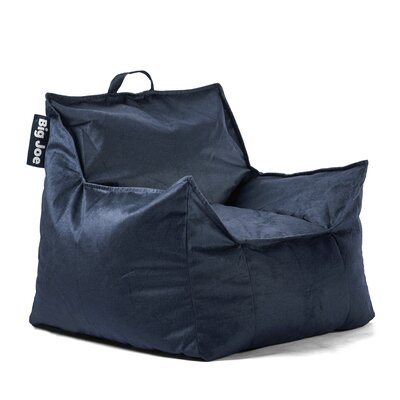 Big Joe Mitten Bean Bag Chair Upholstery: Cobalt, Size: 28 H x 34 W x 30 D