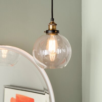 Bundy 1-Light LED Bowl Pendant Finish: Antique Brass