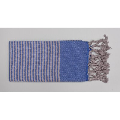 Mckenzi Hand Towel Color: Blue