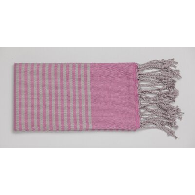 Mckenzi Hand Towel Color: Fuschia