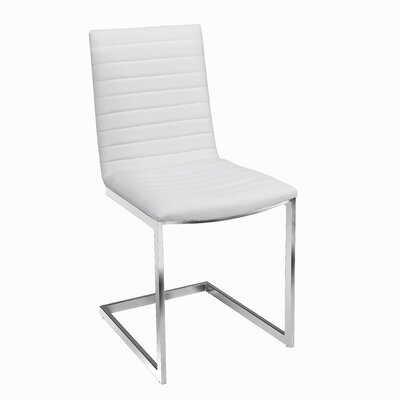 Botkins Modern Upholstered Dining Chair Upholstery: White