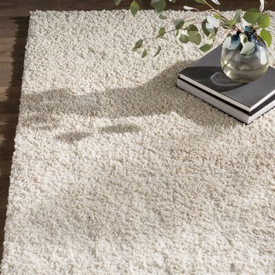 Kalypso Cream Area Rug Rug Size: Rectangle 82 x 10