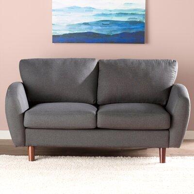 Garraway Loveseat Upholstery: Gray