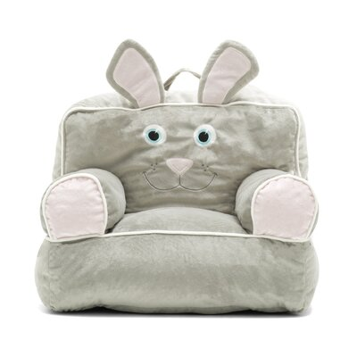 Big Joe Kids Bagimal Throne Bean Bag Chair