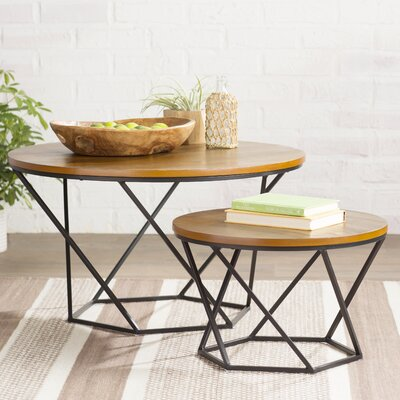 Dunavant 2 Piece Coffee Table Set