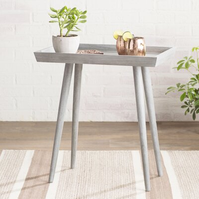 Beem Tray End Table Color: Slate Gray
