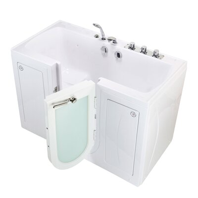 Tub4Two Microbubble 60 x 30 Walk-in Combination Bathtub