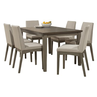 Clary 7 Piece Dining Set