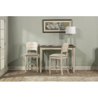Clary 3 Piece Counter Height Breakfast Nook Dining Set