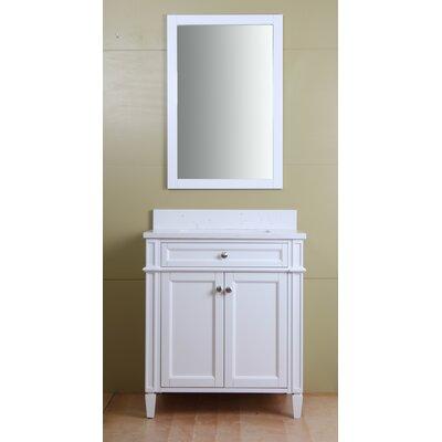 Wylie 30 Single Bathroom Vanity Set Base Finish: Cream White